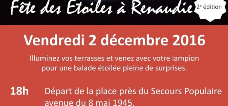 2ème édition – Fête des Étoiles à Renaudie