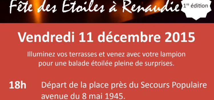 1ère édition – Fête des Étoiles à Renaudie